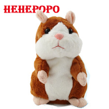 Interaction Talking Hamster Kids Baby Talking Toys Plush Dolls Toy Sound Record Speaking Hamster Educational Talking