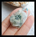 Natural Stone Nugget Ocean Jasper Pendant,28*23*10mm,10.5g jewelry accessories