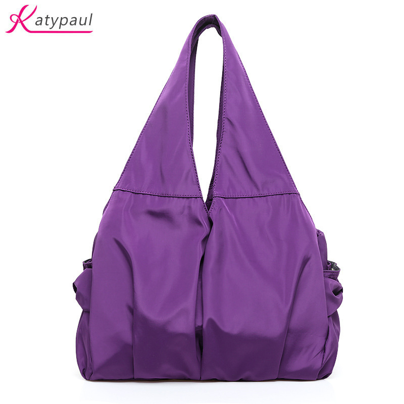 New 2017 Womens Tote Bags Nylon Oxford Cloth Shoulder Bag Large Handbags Casual Travel M ...