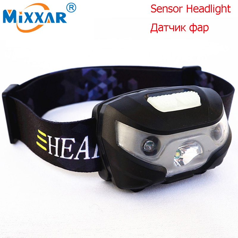 3000Lm Body Motion Sensor Mini LED Headlight Headlamp Rechargeable Camping Hunting Fishing Flashlight Head Torch Lamp USB рубашка acoola acoola ac008ebbazy8