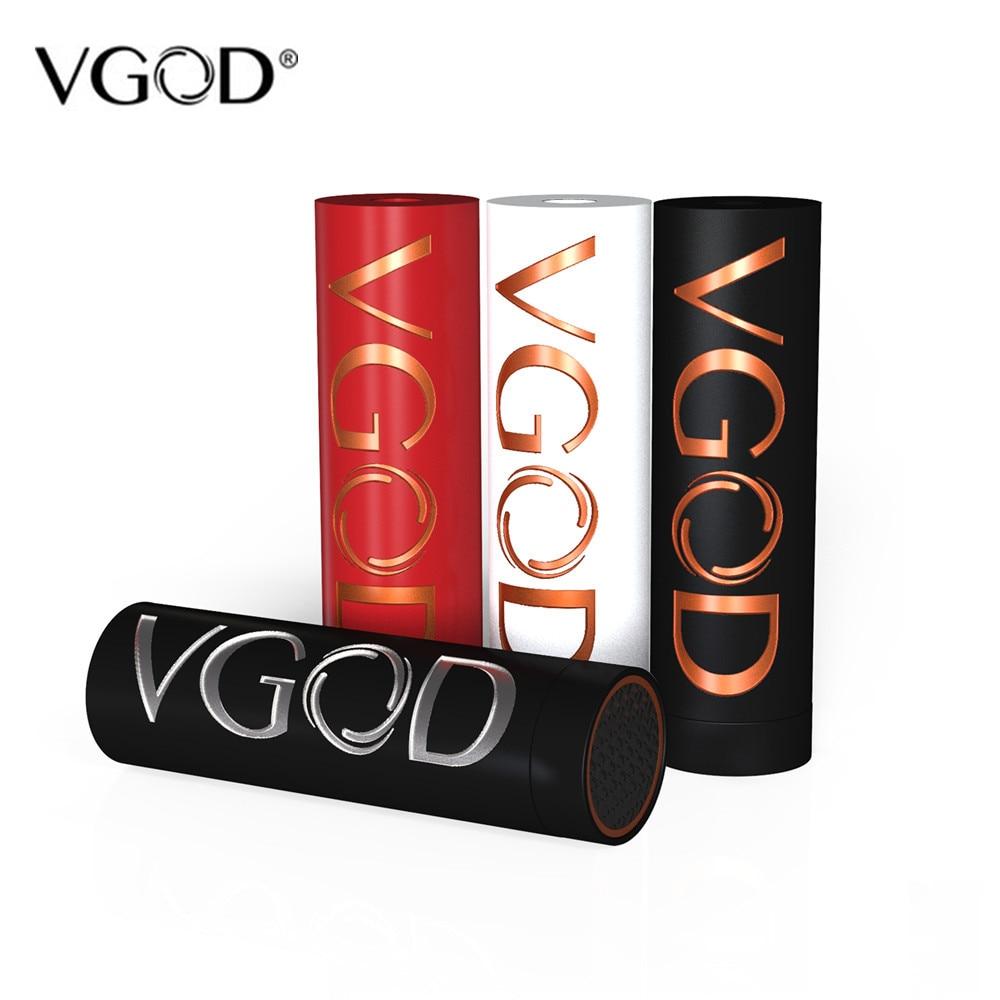 VGOD Pro Mech cigarette électronique Mod Boîte Mécanique Mod Alimenté par Unique 18650 Batterie Fit Pro Goutte À Goutte RDA VS Elite Mech Batterie - 6