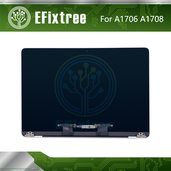 """Grey Gray Silver  A1706 LCD For Macbook Pro Retina 13.3"""" A1708 LCD Display Screen Panel Assembly 2016 2017 EMC 3163 EMC 3071"""