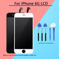 1PCS 100 TOP Grade AAA 4 7 Inch Screen For IPhone 6 LCD Display Replacement Lens