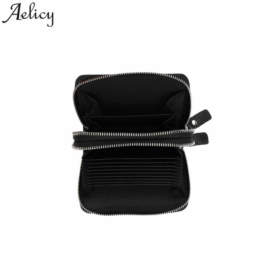e792db9b9d66 Aelicy 2018 Women's Leather Secure Spacious Cute girl bag Double zipper  Wallet Master Designer Dropship hot High Quality wallet