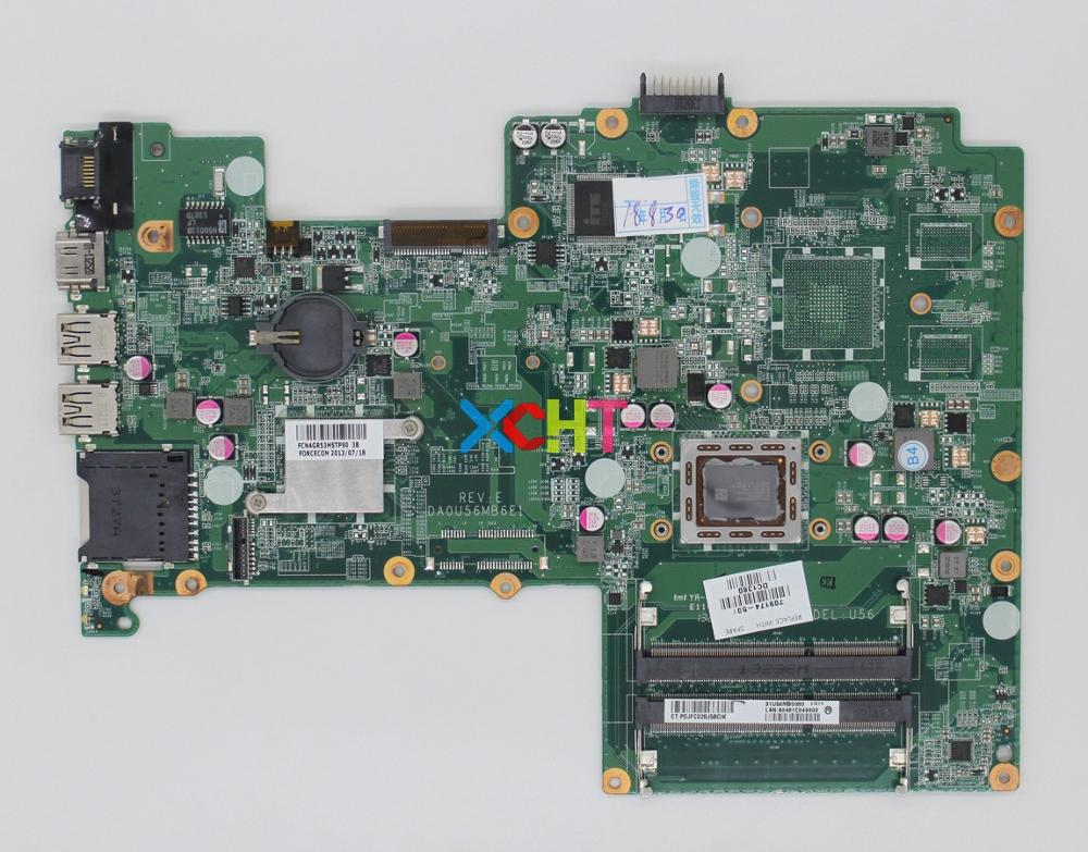 for HP Pavilion 15 15 B Series DA0U56MB6E0 709174 501 709174 001 709174 601 UMA A70M w A6 4455M CPU Motherboard Mainboard Tested-in Laptop Motherboard from Computer & Office