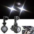 Универсальный Мотоциклов LED Вспомогательный Противотуманный Фонарь Assemblie Дальнего света 40 Вт Фар Для BMW R1200GS/ADV/F800GS/F700GS/F650FS/