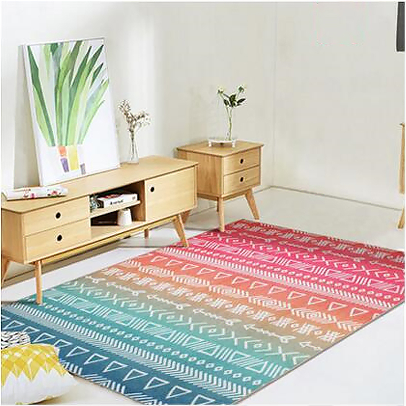 2018 Hot Sale Ottoman Style Design Large Carpets For Living Room Bedroom Kid  Room Rug Soft Area Rugs Home Floor Door Mat Carpet