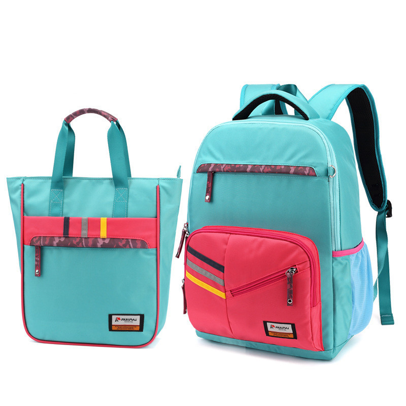 Girl School Bags For Teenagers backpack set women shoulder travel bags 2 Pcs/Set rucksac ...