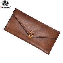 Fashion Designer Wallets and Purses Brand Leather Purse Long Simple Wallet Business Card Holder Purse Money Bag Coin Pocket 2019 amazing designer simple wallet women purse long wallet card holders bag carteras famous brand womens wallets and purses lucky