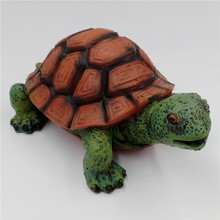 Size L 15cm Aquarium Turtle Tortoise Fish Tank Decoration Turtle Supply Aquarium Accessories Fish Tank Resin Turtle