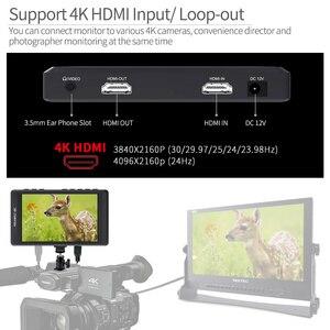 """Image 4 - Feelworld fw450 4.5 """"ips 4 k hdmi câmera monitor de campo 1280x800 hd portátil lcd monitor para dslr com pico campo verificação foco"""