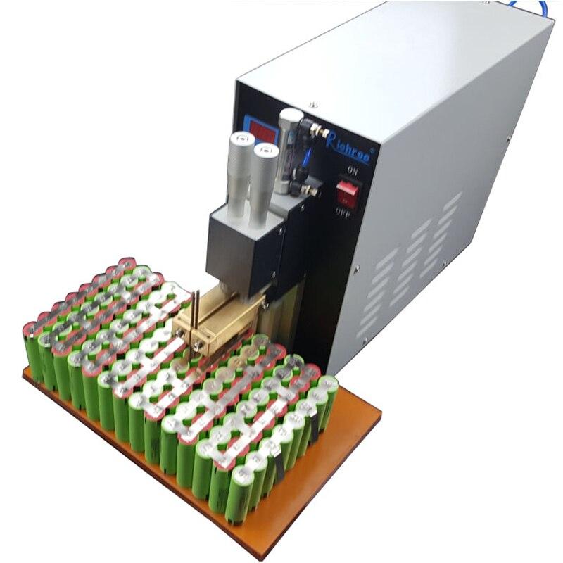 3KW Pneumatiques À Impulsion Soudeuse De Tache De Batterie Batterie De Soudage Par points