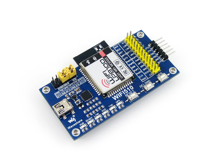 Parts WIFI-LPB100-A Evaluation Kit LPB100 WiFi Module USB TO UART Onboard PCB Antenna Wireless USB Communication Development Boa