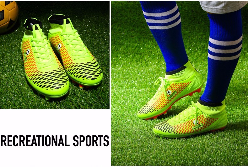 High Ankle Football Boots Kids Botines Botas Futbol 2017 Youth Superfly Soccer Sports Shoes Outdoor Training Sneakers Hot Sale9