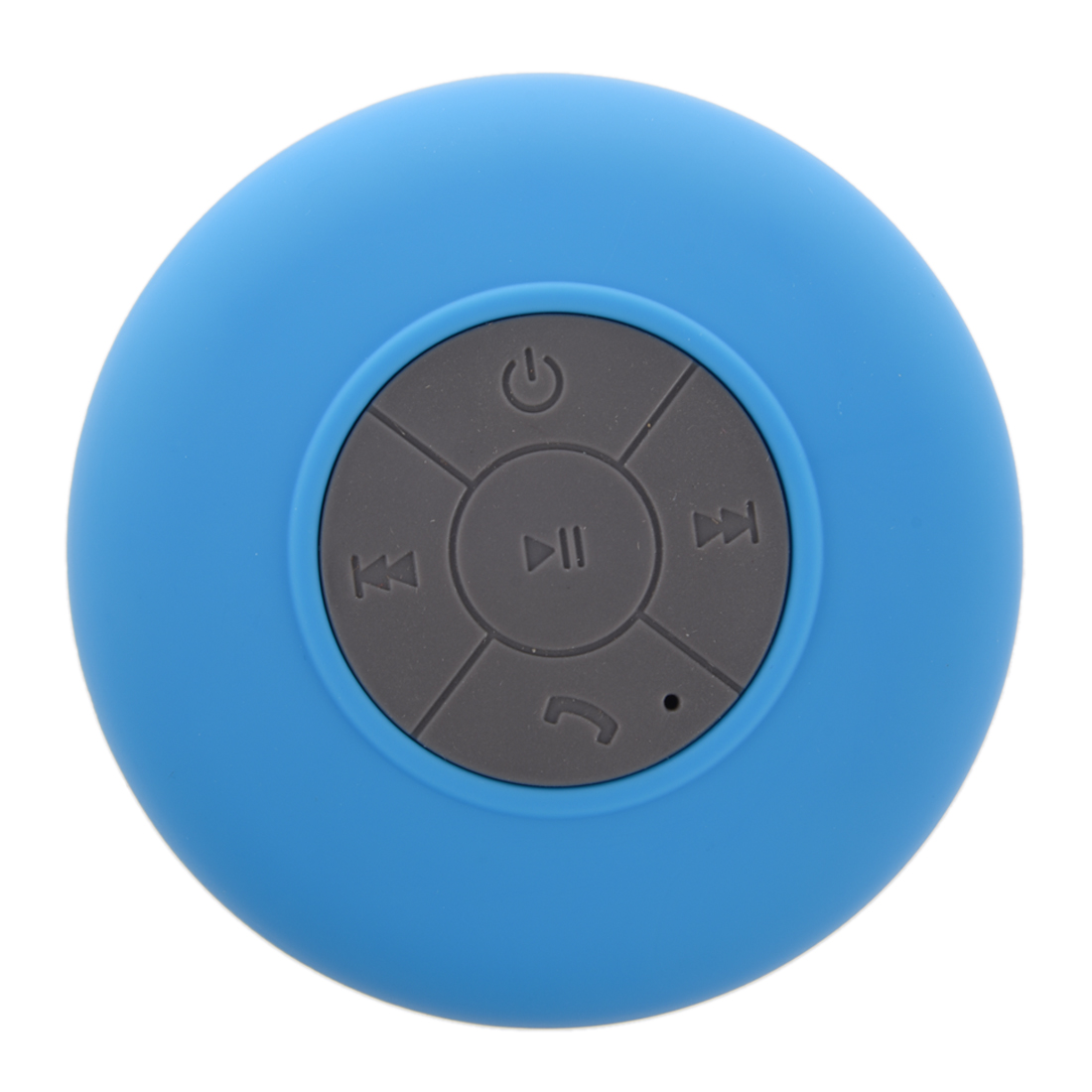 Portable Car Bathroom Handsfree Wireless Bluetooth Speaker (Blue)(China)