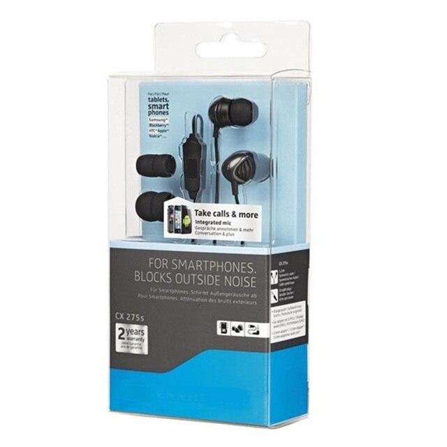 ffae7488382 Original genuine CX275S cx275 CX 275 S with mic Universal Headset for All  Smartphones brand earphones