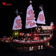 Led light for Stzhou 06057 Legoing Ninjago 70618 Destiny's Bounty Ship Movie Boat Model Building Blocks Toys Children(only light омепразол тева 20 мг n28 капс