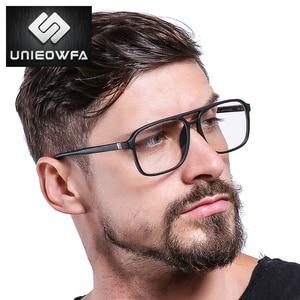 Image 3 - אנטי כחול אור מחשב משקפיים גברים מסגרת אופטית מרשם משקפיים מסגרת קוצר ראיה ברור תואר TR90 משקפיים מסגרת