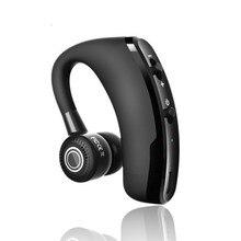 Auriculares V9 manos libres de negocios con Bluetooth con micrófono Control de voz Auriculares inalámbricos con Bluetooth UNIDAD DE ror Cancelación de ruido