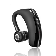 V9 דיבורית עסקים Bluetooth אוזניות עם מיקרופון קול שליטה אלחוטי Bluetooth אוזניות ror כונן רעש ביטול