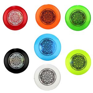 Ultimate Flying Disc Hot Stamping Star Print Non-odor PE Smooth Surface Game Competition Outdoor Practice Accessory
