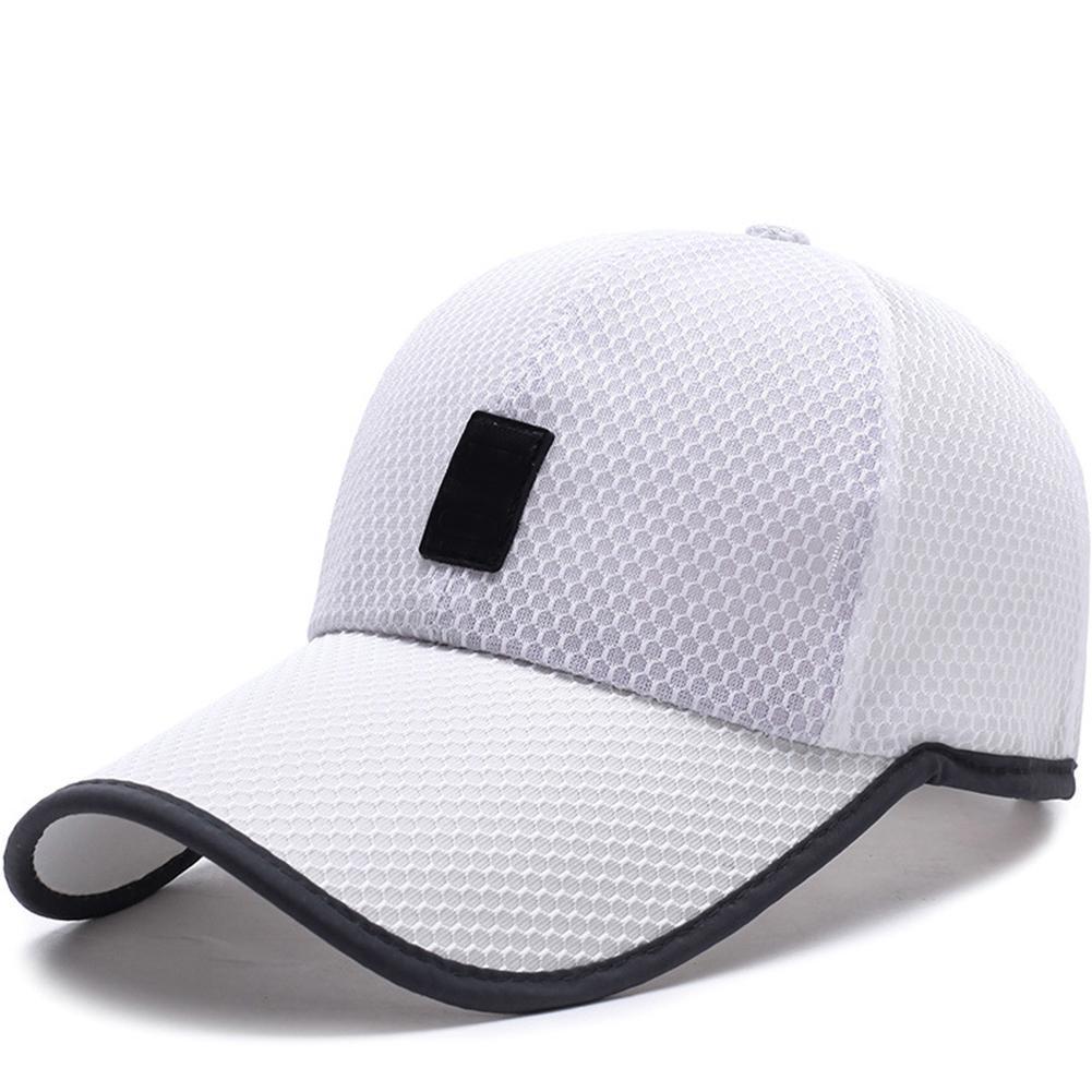 Hat Men's Baseball-Cap Mesh Adjustable Sunshade Suede Comfortable Middle-Sun Outdoor