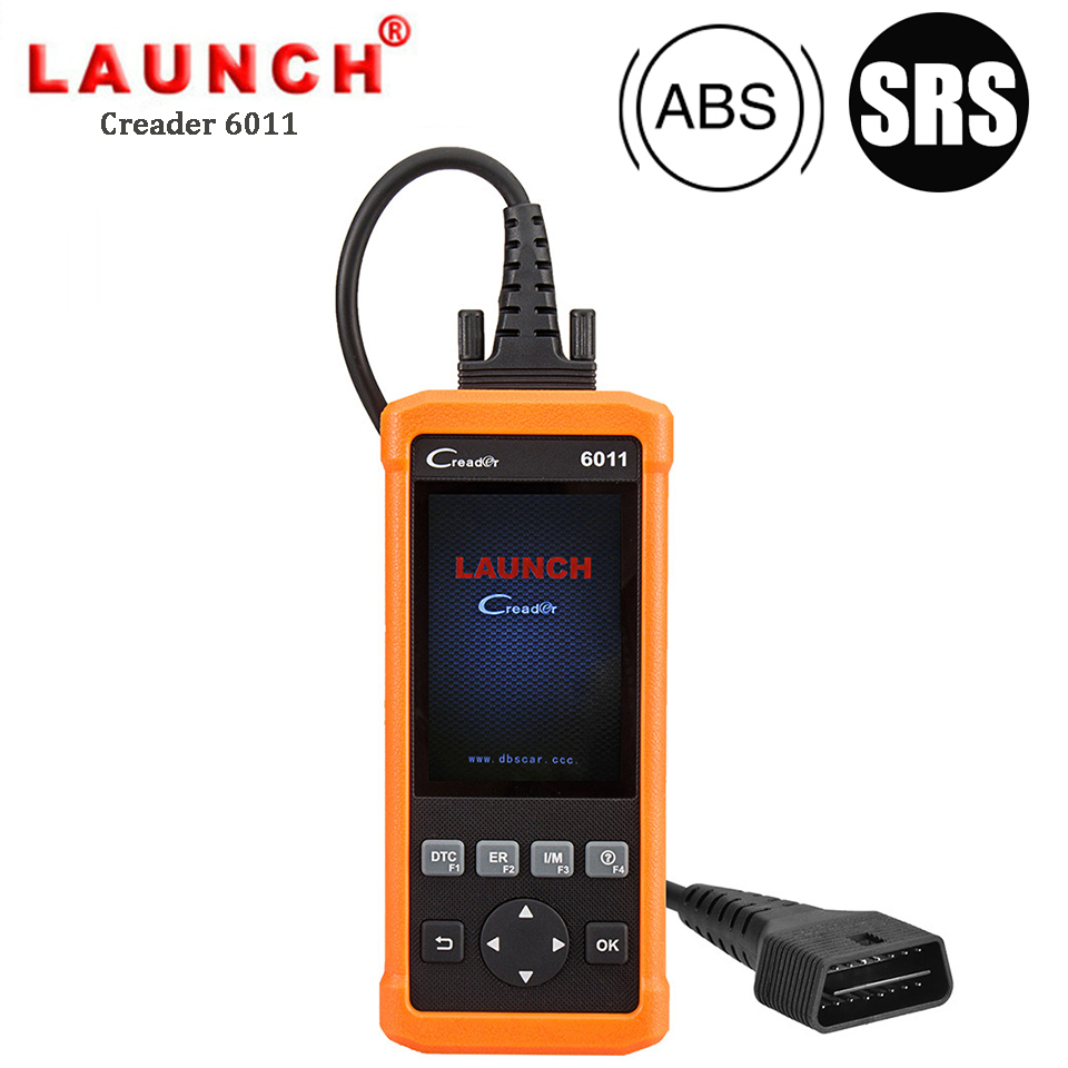 Launch CReader 6011 OBD2 EOBD Scanner ABS SRS Diagnostic Tool Car Engine Airbag Fault Code Reader Full OBD 2 Scan Diagnostics
