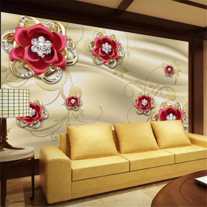 Beibehang Wallpaper Murals Custom Home Decor Living Room