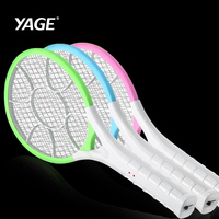 YAGE Swatter Mosquito Killers Pest Control Bug Zapper Reject Racket Trap Home Tool 2200V Electric Shock 400mAh Electric Mosquito