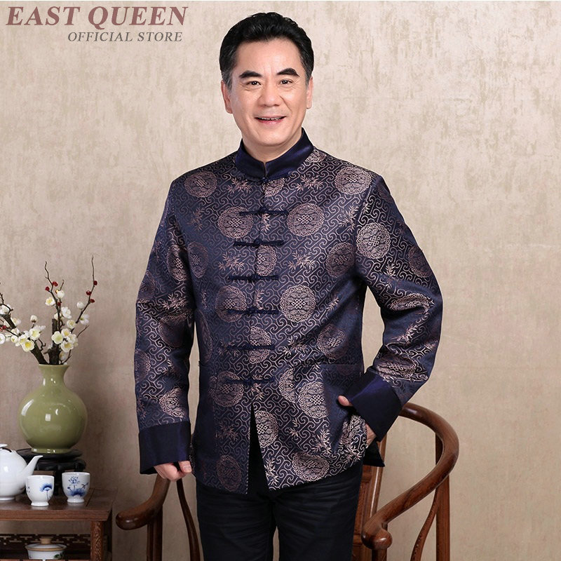Chinese culture traditions men cheongsam oriental style clothing traditional chinese shirt oriental mens clothing FF814