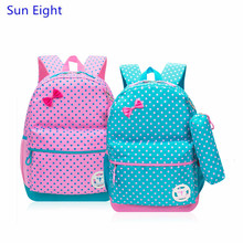 Sun Eight red dot children bag school bags for girls backpack child blue pencil bag kids backpack small bagpack dropshipping