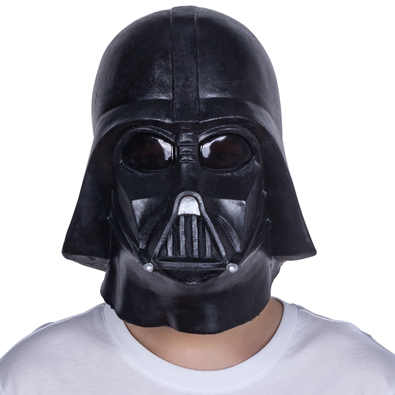 Darth Vader Cosplay Helmet Star Wars Mask Latex Full Head Costume Prop COS Party