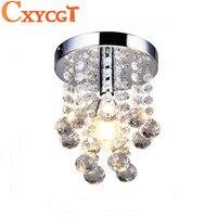 D'économie D'énergie LED De Luxe Lustre En Cristal Simple Petite Allée Escalier Couloir K9 Plafond Lampe