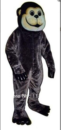 Талисман черный APE талисмана APE талисман Пользовательские необычные костюмы аниме косплей комплекты Mascotte Необычные платье карнавальный ко
