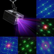 High Quality Mini RG Laser projector 48 patterns blue led Club Party Bar DJ light Dance Disco party Stage Lights show system