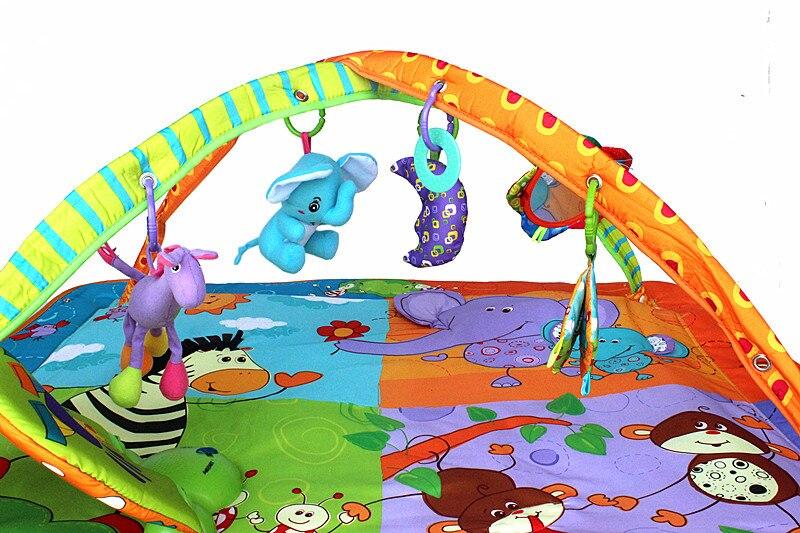 Tapis de sol pour bébé musical en développement pour enfants - 2