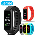 Lemse L30t Smart band Heart Rate Monitor IP67 Waterproof Call Message Remind Smartband Fitness Tracker for Android iOS