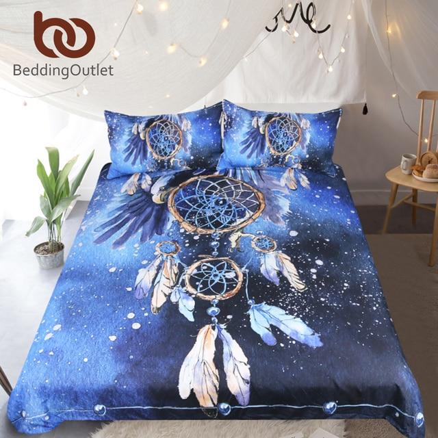 BeddingOutlet Dreamcatcher Set di Biancheria Da Letto Queen Dimensione Della Piu