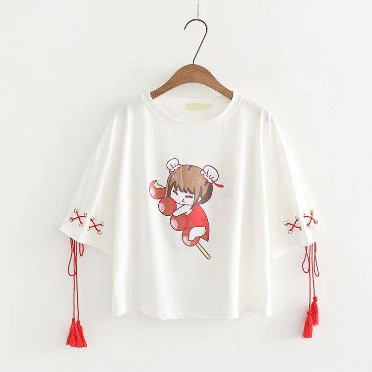2018 di Estate del Cotone di Modo T Delle Donne Della Camicia T-Shirt Casual Magliette e camicette Manica Corta T-Shirt Donna felpa