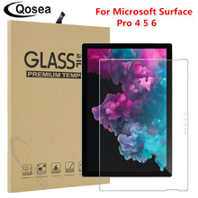 Qosea For Microsoft Surface Pro 6 Screen Protector Ultra-thin Clear Film For