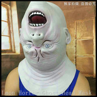 2016 Newest Zombie Demon Full Head Mask Latex Devils Scary Mask Halloween Prank Prop For Costume