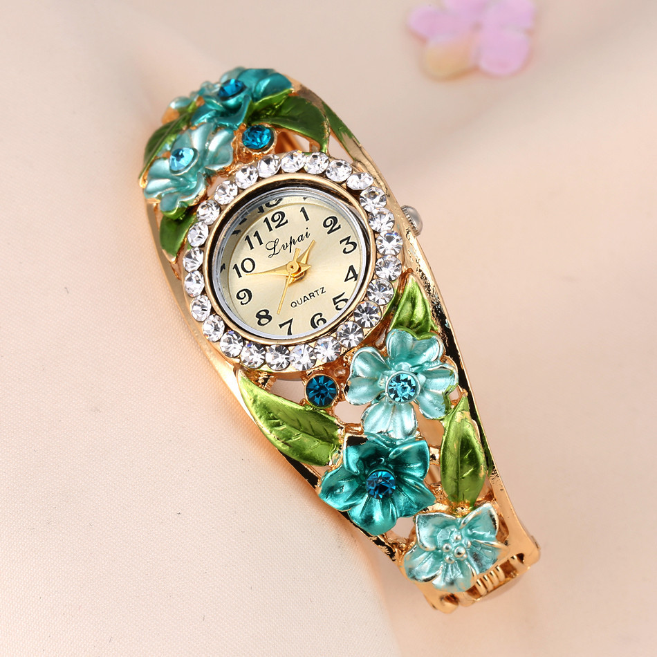 Bracelet Watch Clock Dress Moment Hot-Sale DROPSHIP Fashion Ladies Newest Relogio -N03 title=