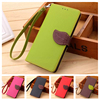 Leaf Clasp PU Leather Case for Huawei Ascend P8 Lite Stand Function Card Holder Phone Wallet Cover for Coque Huawei P8 Lite Case