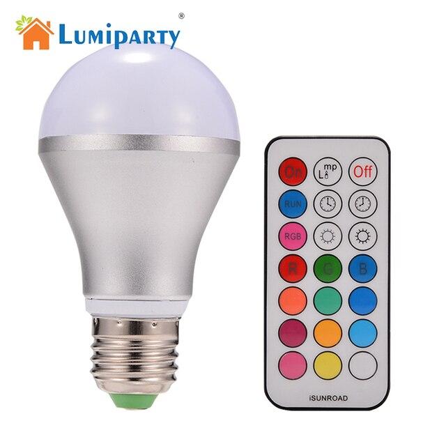 LumiParty 10 W E27 RGB 16 Kleuren Veranderen Decoratie Draadloze ...