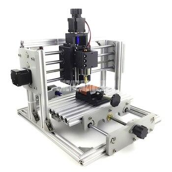 CNC grawerowanie mechaniczne maszyny DIY Mini frezarka do drewna grawerowanie miękki metal napis znakowanie frezarka 45 W/220 W w Frezarki do drewna od Narzędzia na