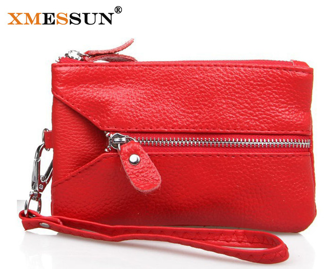 Promotion!Fashion Women Wallet/Day Clutch/ Purse/ Wristlet//Cell Phone/Key Bags Carteira Feminina GENUINE LEATHER Clutch Bag 059