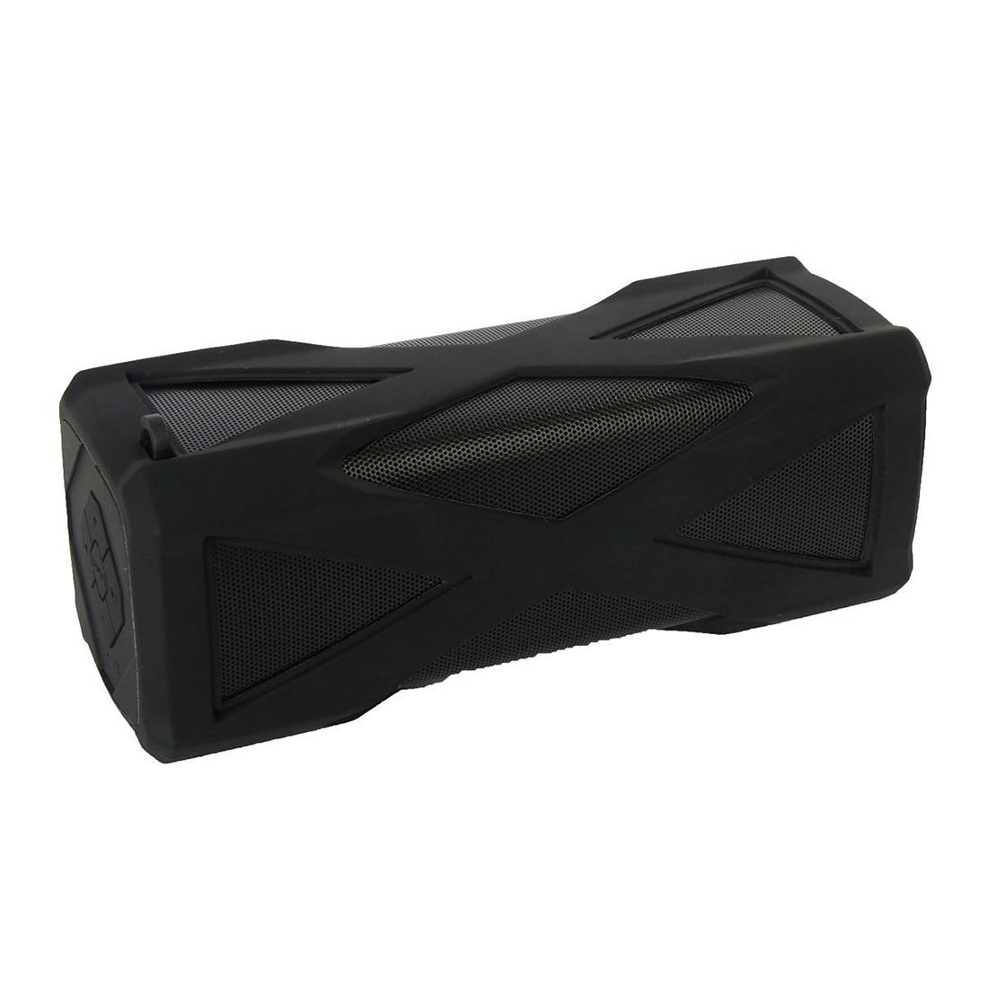 Waterproof, Dustproof, Anti-scratch, Shockproof Wireless Portable Bluetooth Stereo Sport Speaker 4.0 Built-in Mic Playing Hours