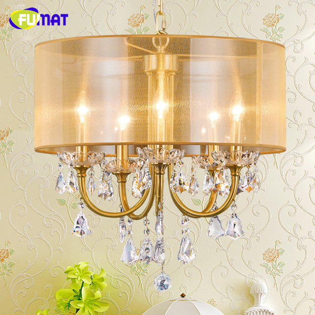 Fumat K9 Crystal Chandeliers Lightings Nordic Lamp For Living Room Dining Art Deco