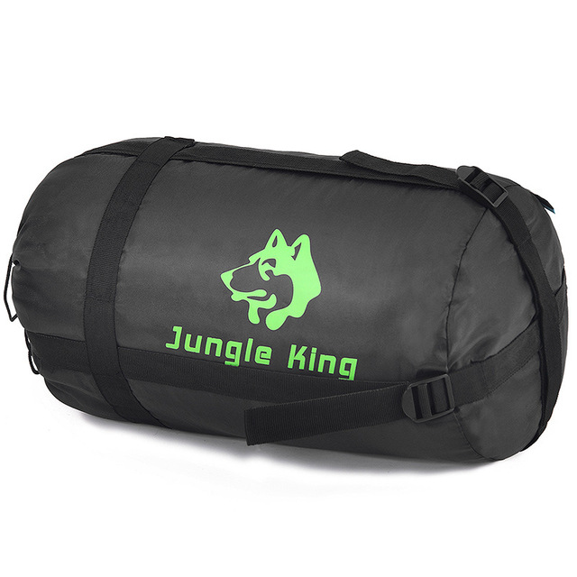 Jungle King 2017 thickening fill four holes cotton sleeping bags outdoor camping mountaineering special camping  bag movement 2
