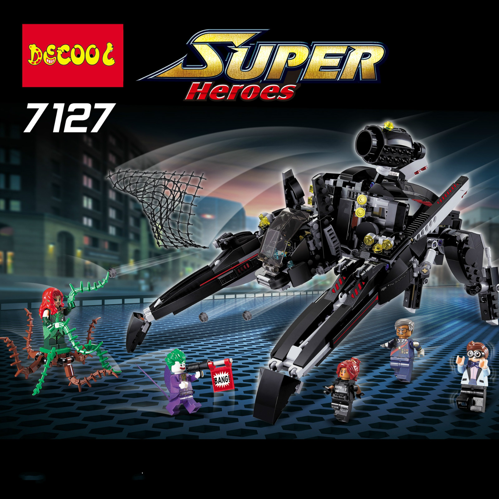 Building Blocks Compatible with Lego DG7127 775P Models Building Kits Blocks Toys Hobby Hobbies For Chlidren